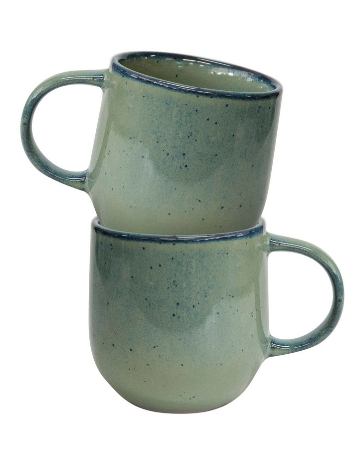 NAOKO Mug - 380ml - Pistachio - Set of 6 image 4