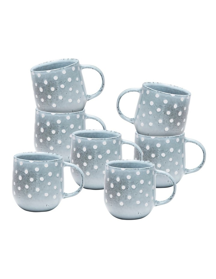 NAOKO Mug - 380ml - Polka Grey - Set of 6 image 1