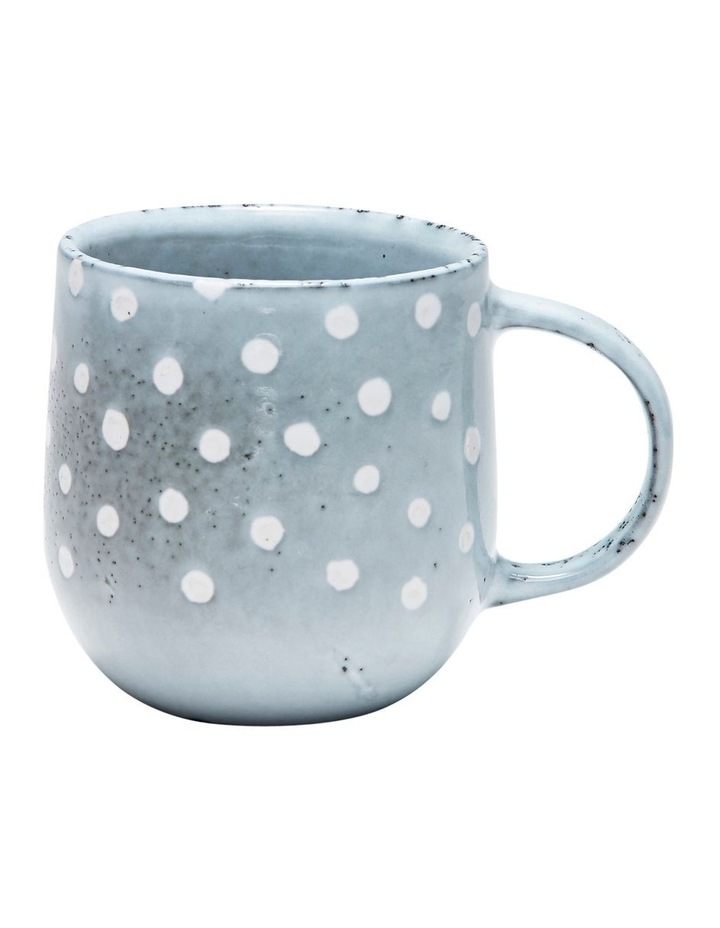NAOKO Mug - 380ml - Polka Grey - Set of 6 image 2