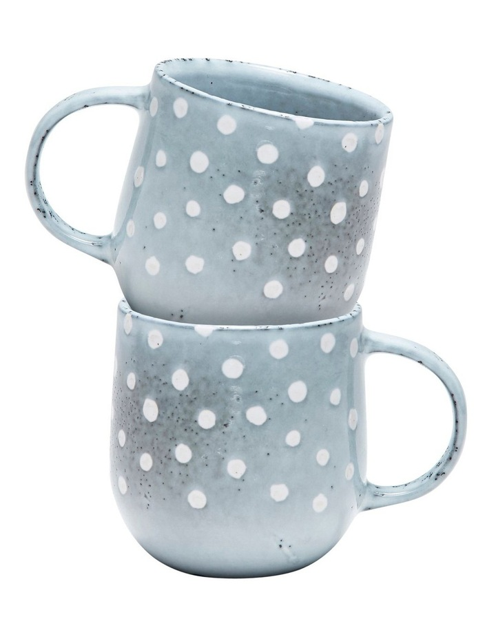 NAOKO Mug - 380ml - Polka Grey - Set of 6 image 4