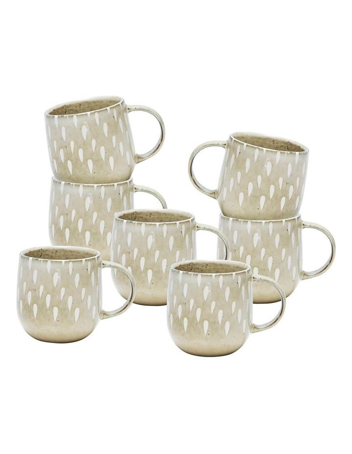 NAOKO Mug - 380ml - Tear Biscuit - Set of 6 image 1