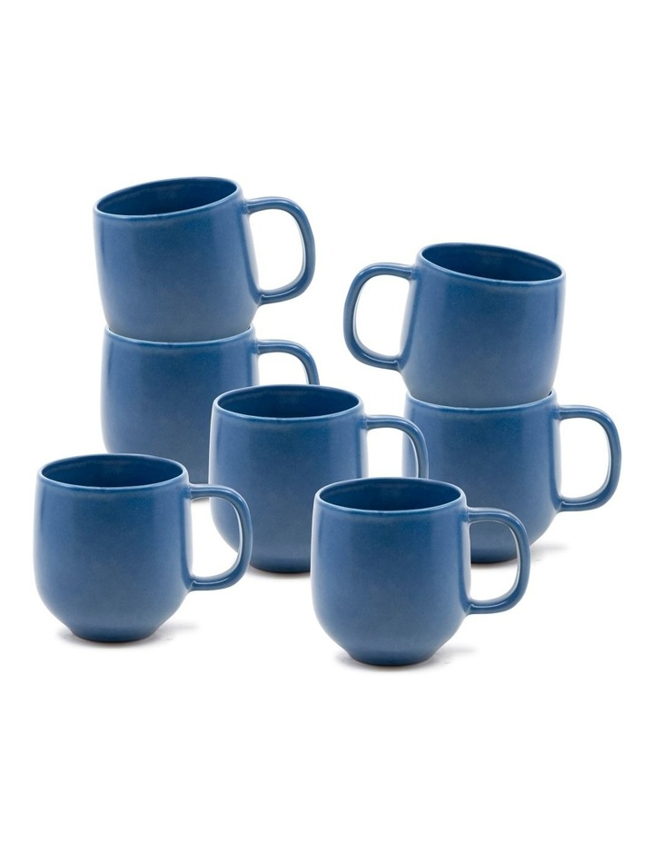 Hue Mug 380ml - Blue - Set of 6 image 1