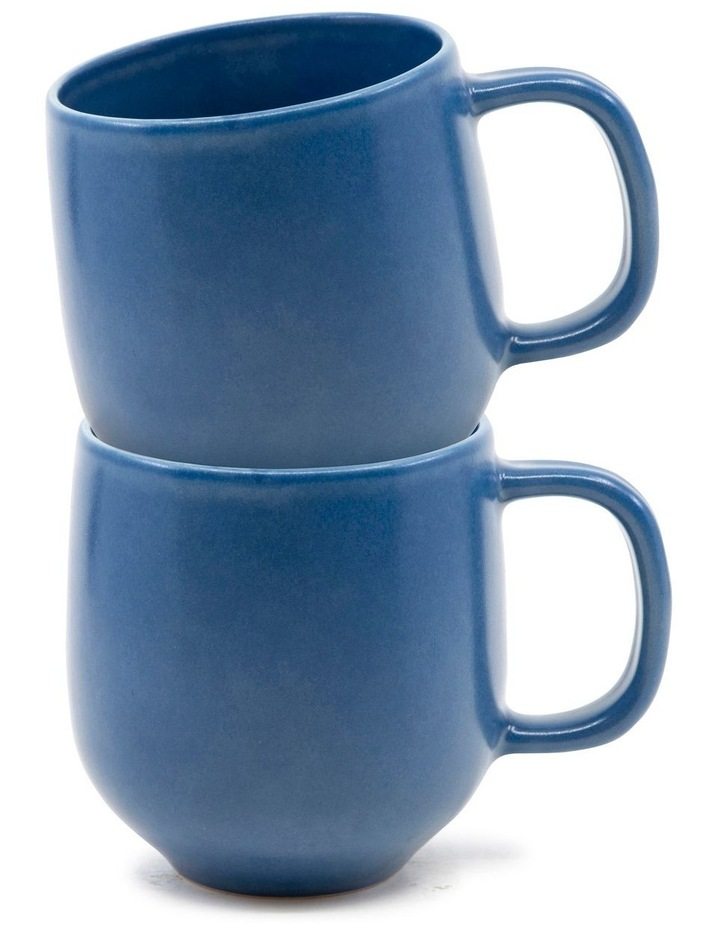 Hue Mug 380ml - Blue - Set of 6 image 3