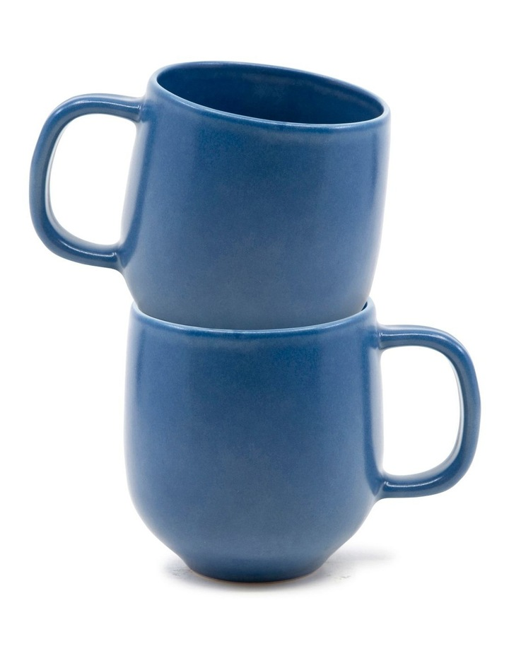 Hue Mug 380ml - Blue - Set of 6 image 4