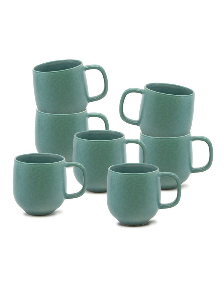 Hue Mug 380ml - Green - Set of 6 image 1