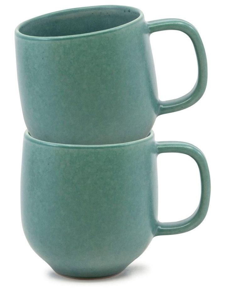 Hue Mug 380ml - Green - Set of 6 image 3