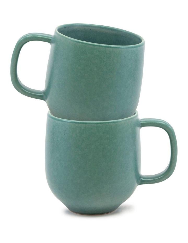 Hue Mug 380ml - Green - Set of 6 image 4