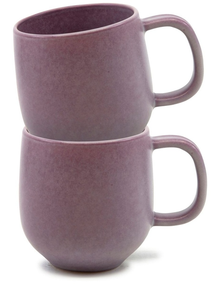 Hue Mug 380ml - Purple - Set of 6 image 3