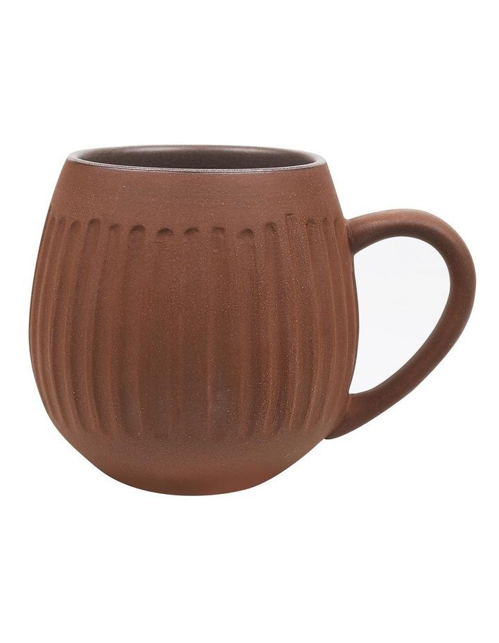 Hug Me 4 Pack Mugs in Dark Clay image 2