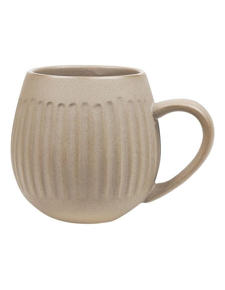 Hug Me 4 Pack Mugs in Light Clay image 2