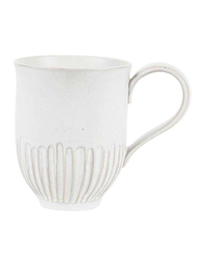 White Crafted 400ml Mug Set 2 image 2