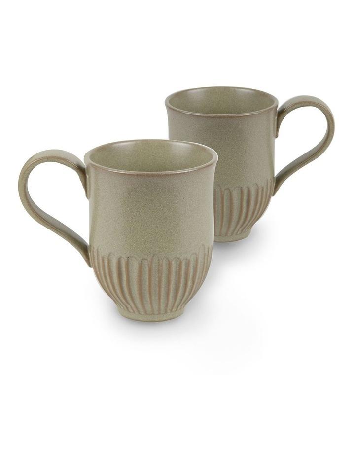 Olive Crafted 400ml Mug Set 2 image 1