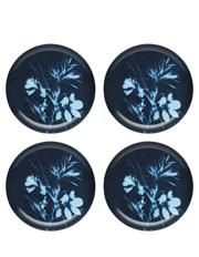 Ecology - Sunprint Set of 4 Side Plate Lunar 21cm