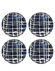 Ecology - Inkwell Set of 4 Side Plate Midnight 21cm
