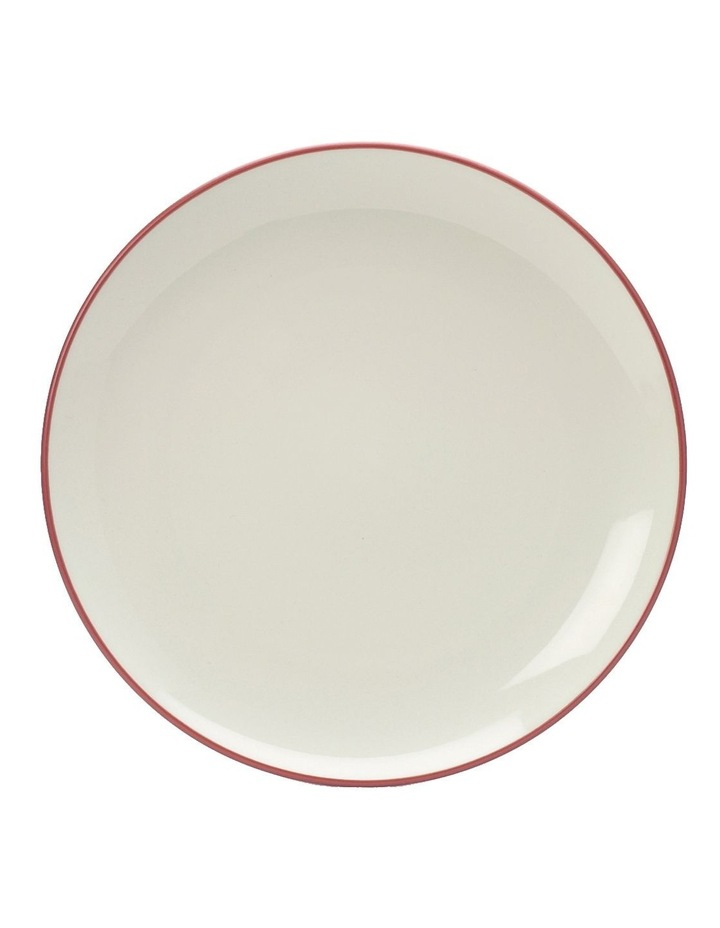Colorwave Raspberry-Coupe Salad Plate 21cm set of 4 image 2