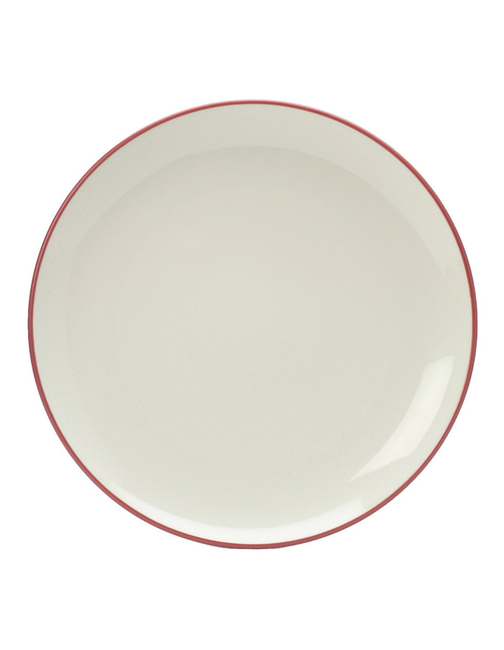 Colorwave Raspberry-Coupe Salad Plate 21cm set of 4 image 1