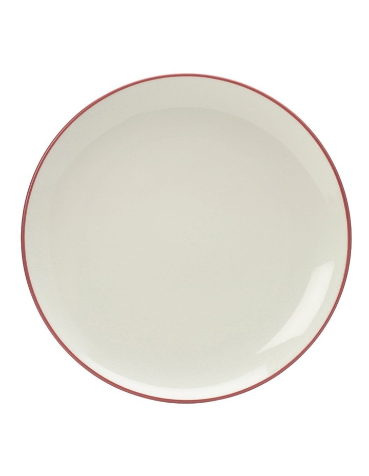 Colorwave Raspberry-Coupe Dinner Plate 27cm set of 4 image 2
