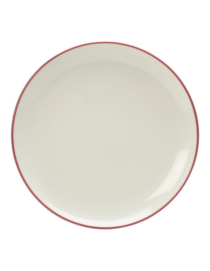 Colorwave Raspberry-Coupe Dinner Plate 27cm set of 4 image 1
