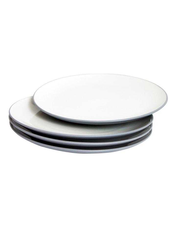 Colorwave Slate-Coupe Dinner Plate 27cm Set of 4 image 1