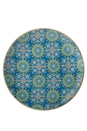 Maxwell & Williams - Teas & C's Isfara Plate Pashar Blue 20cm Gift Boxed