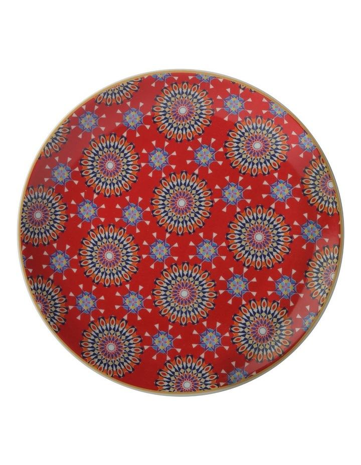 Teas & C's Isfara Plate Pashar Red 20cm Gift Boxed image 1