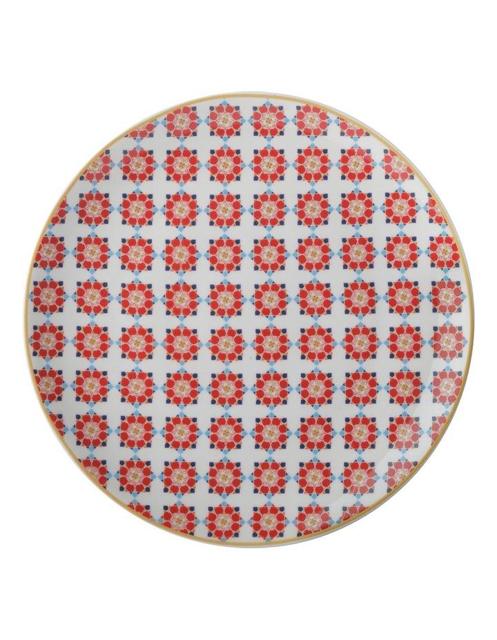 Teas & C's Isfara Plate Samarq Red 20cm Gift Boxed image 1