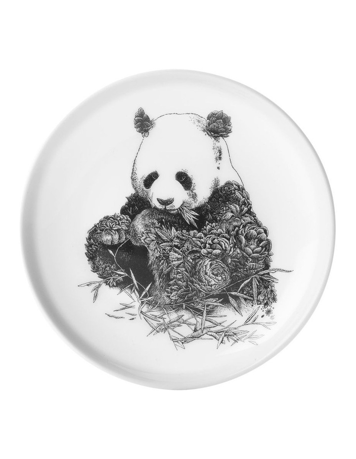 Marini Ferlazzo Plate 20cm Giant Panda Gift Boxed image 1