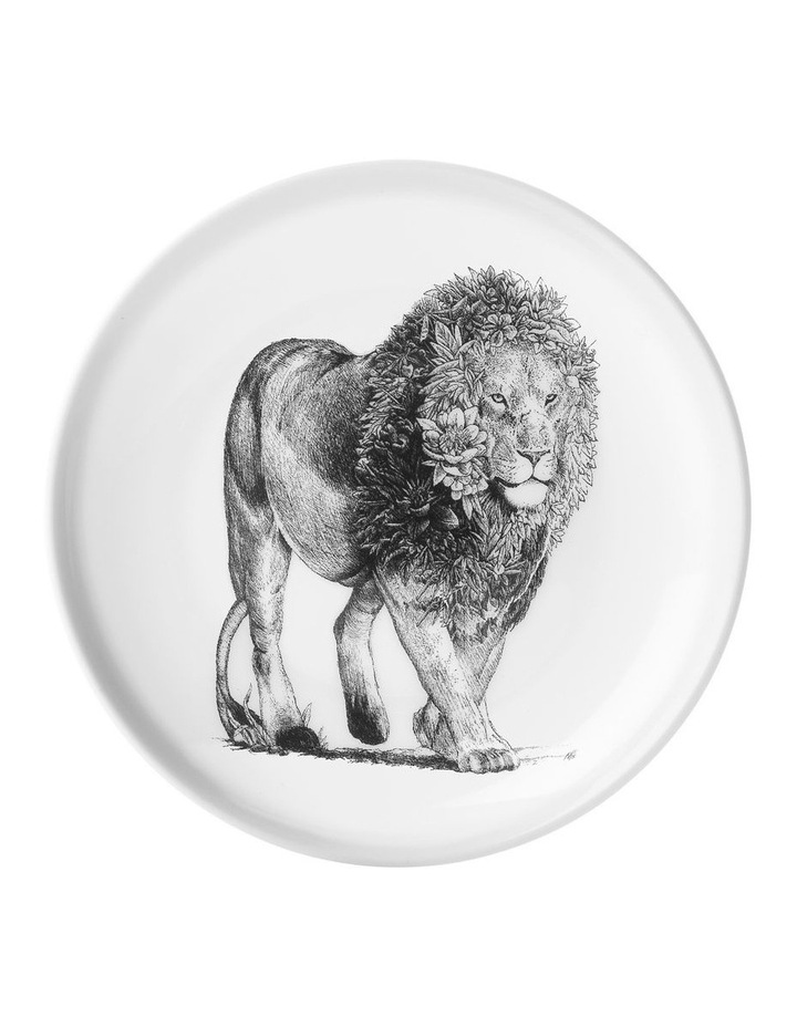 Marini Ferlazzo Plate 20cm African Lion Gift Boxed image 1