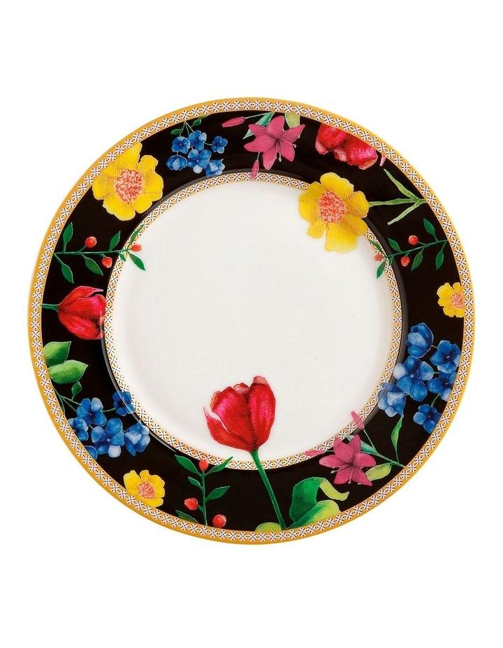 Teas & C's Contessa Rim Plate 19.5cm Black Gift Boxed image 1