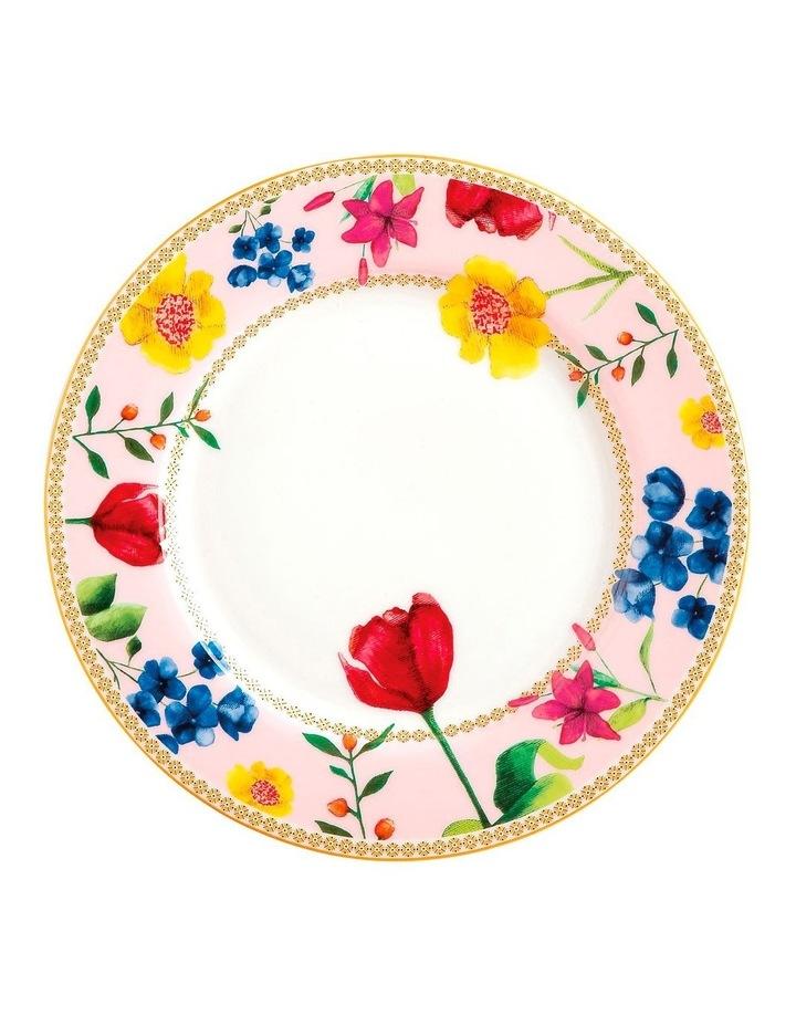 Teas & C's Contessa Rim Plate 19.5cm Rose Gift Boxed image 1