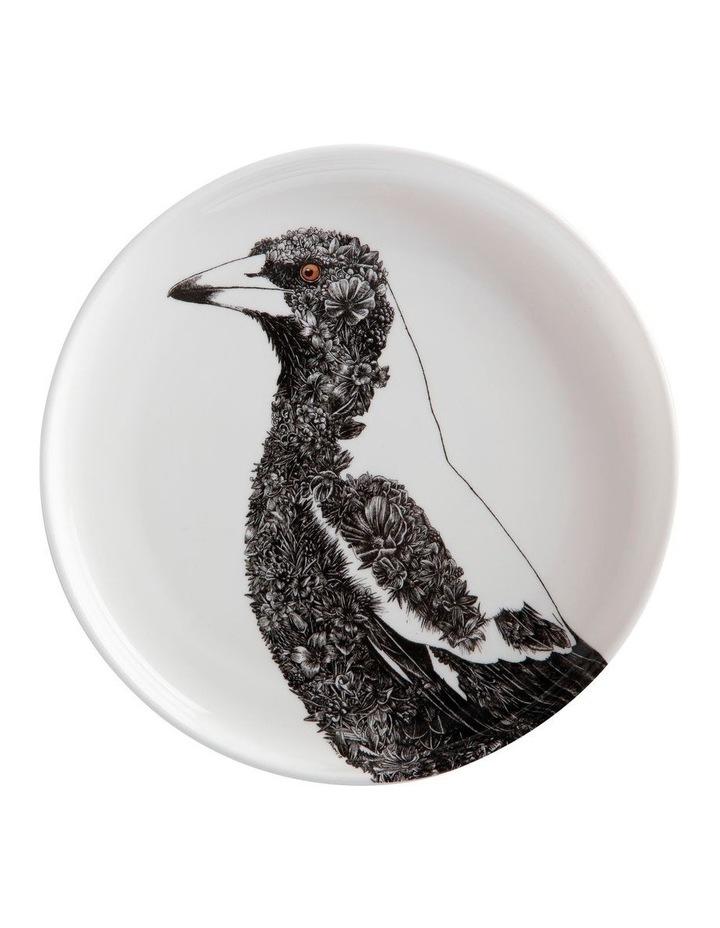 Marini Ferlazzo Birds Plate 20cm Magpie Gift Boxed image 1