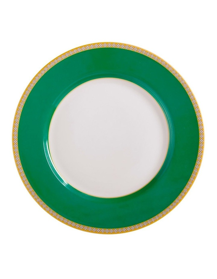Teas & C's Contessa Classic Rim Plate 19.5cm Green Gift Boxed image 1