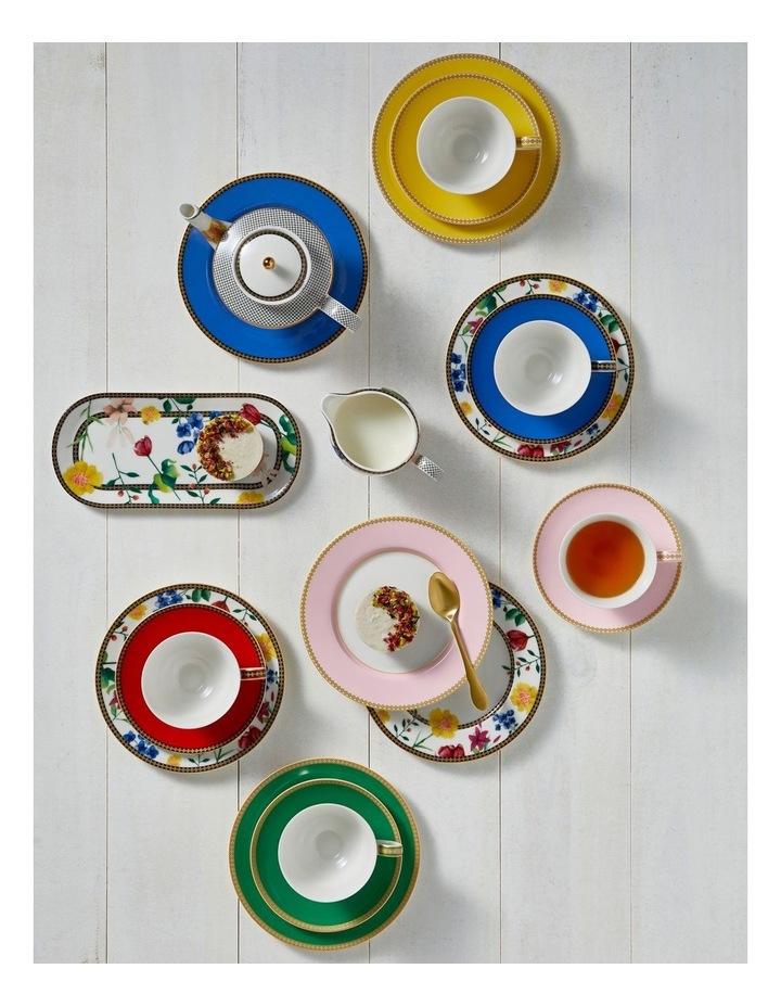 Teas & C's Contessa Classic Rim Plate 19.5cm Green Gift Boxed image 2