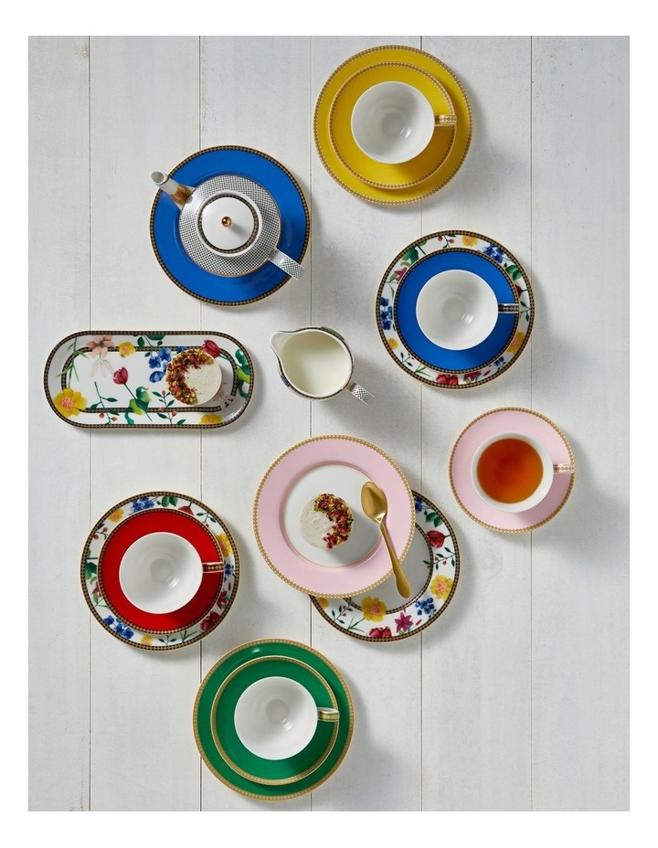 Teas & C's Contessa Classic Rim Plate 19.5cm Yellow Gift Boxed image 2