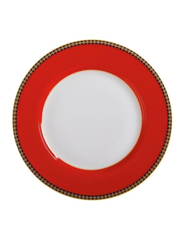 Teas & C's Contessa Classic Rim Plate 19.5cm Red Gift Boxed image 1