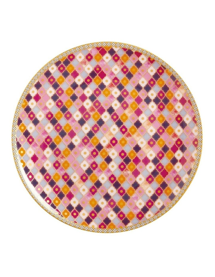 Teas & C's Kasbah Coupe Plate 19.5cm Rose Gift Boxed image 1