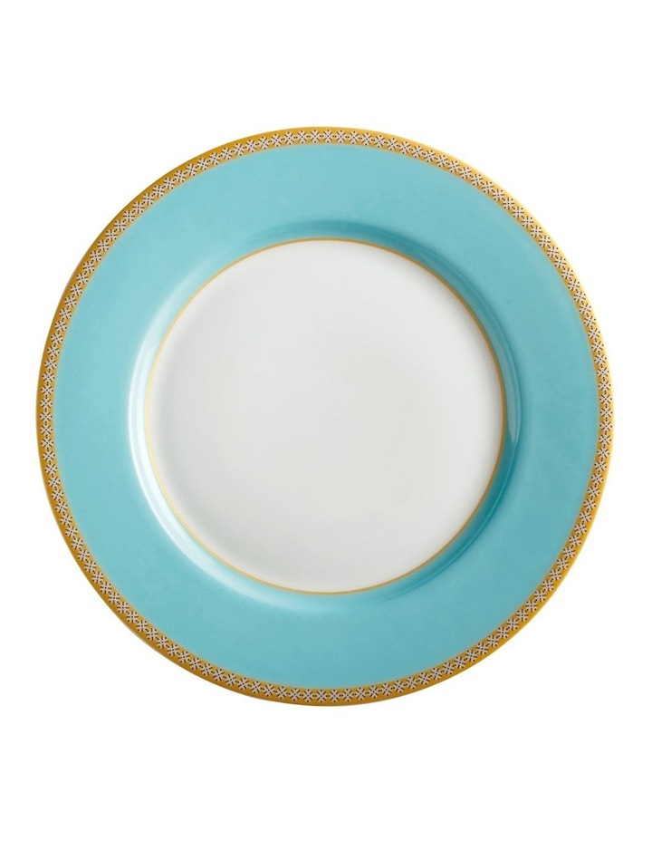 Teas & C's Kasbah Classic Rim Plate 19.5cm Turquoise Gift Boxed image 1
