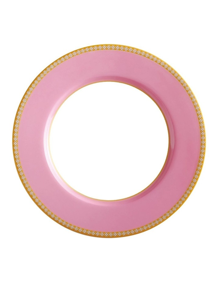 Teas & C's Classic Rim Plate 19.5cm Hot Pink Gift Boxed image 1