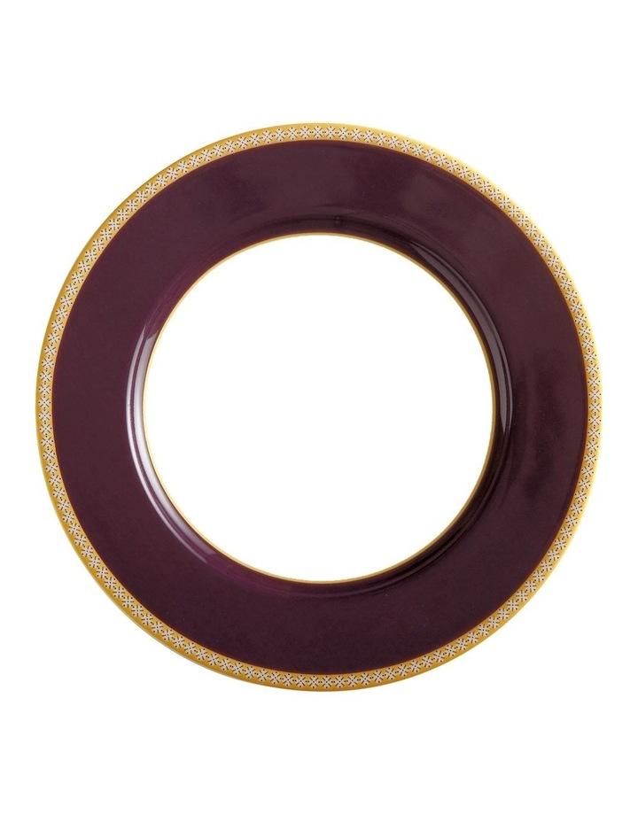 Teas & C's Classic Rim Plate 19.5cm Violet Gift Boxed image 1