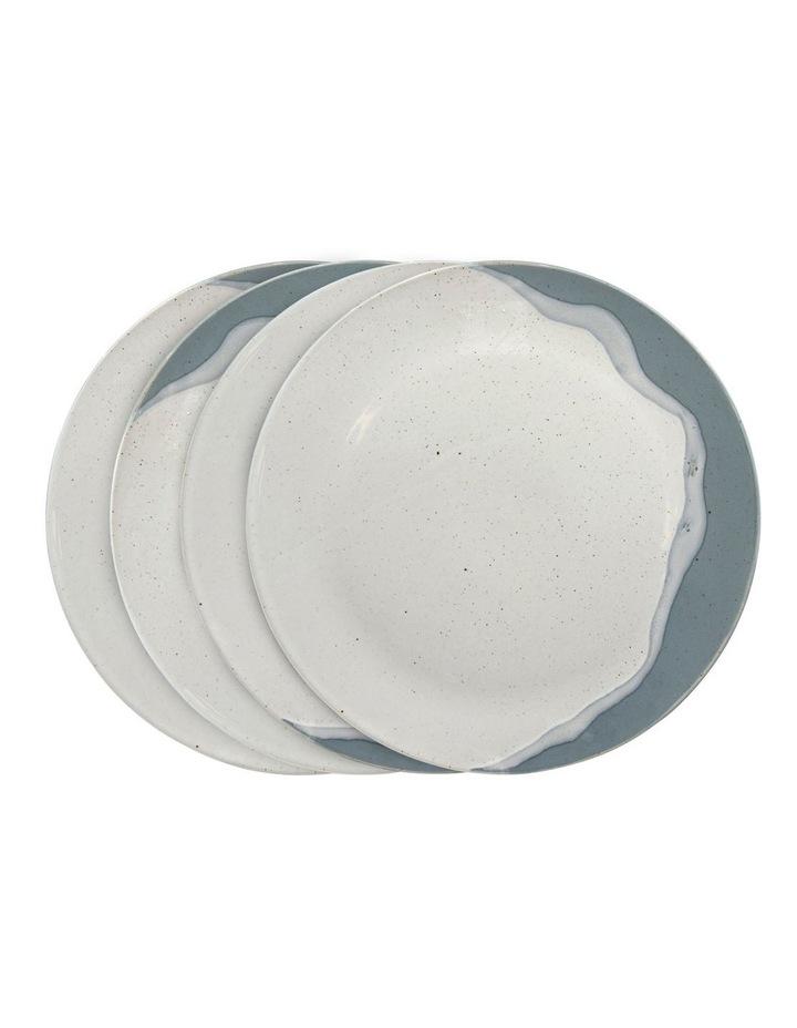 ROAM Dinner Plate - 28cm - Blue - Set of 4 image 1