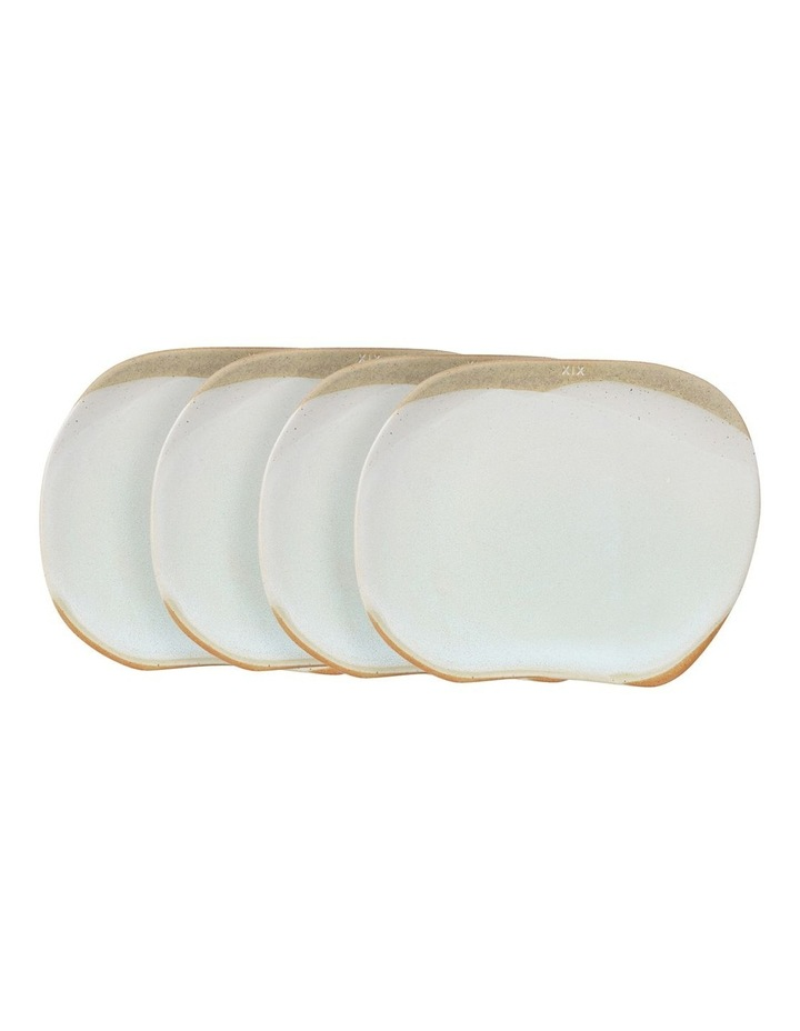 Forager 19.5cm Set of 4 Side Plate in Cream image 1