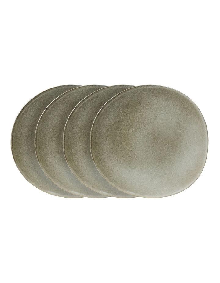 Pier Mason 27.5cm Set of 4 Dinner Plate in Grey image 1