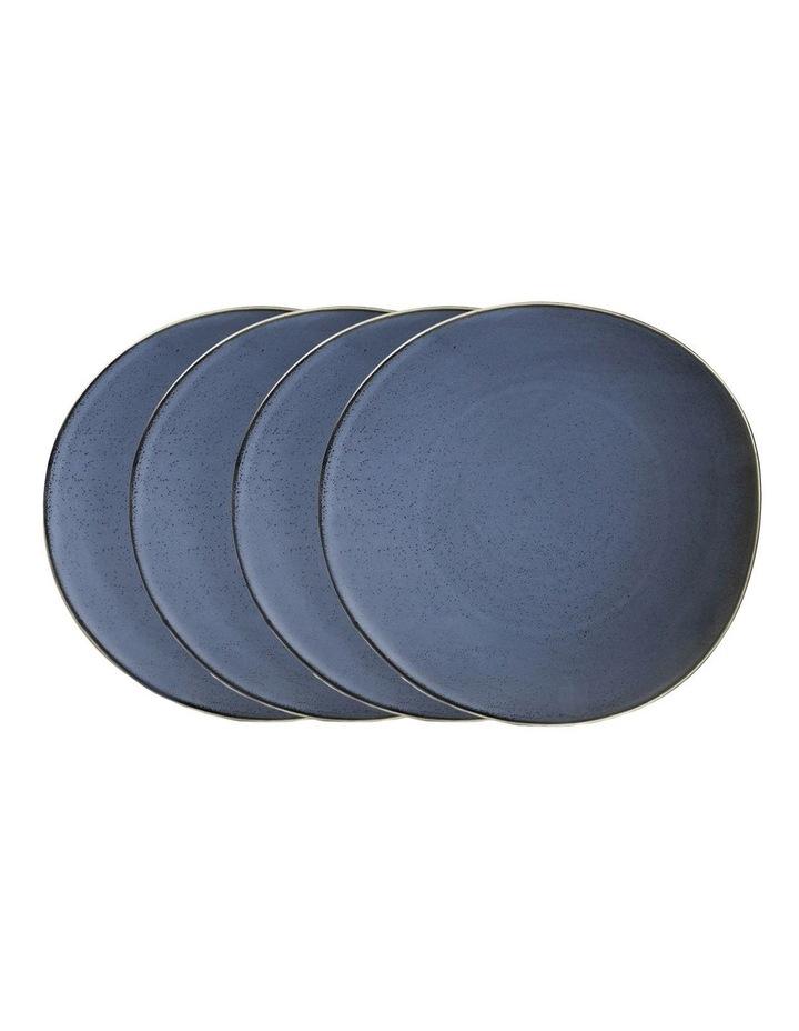 Blue Storm Mason Dinner plate 27.5cm - Set of 4 image 1