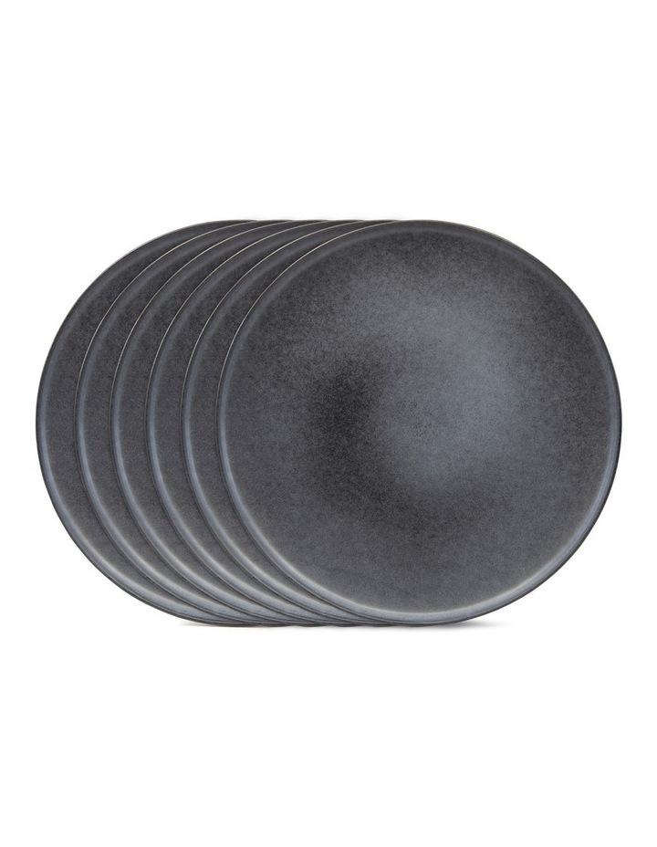 Hue Side Plate 20cm - Black - Set of 6 image 3