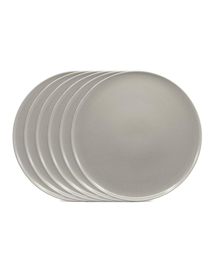 Hue Side Plate 20cm - Grey - Set of 6 image 1