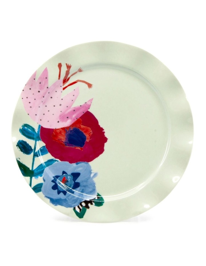 Willow Plate 20cm - Flute - Set of 6 image 2