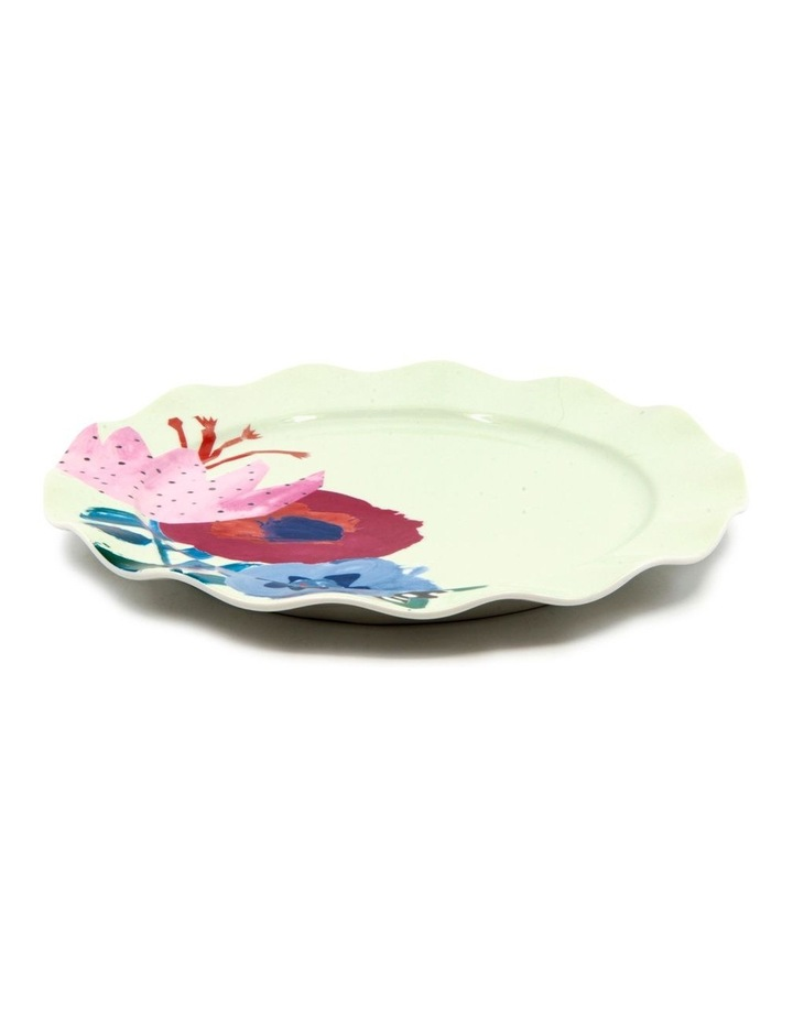 Willow Plate 20cm - Flute - Set of 6 image 3