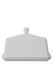 Maxwell & Williams - White Basics Butter Dish Gift Boxed