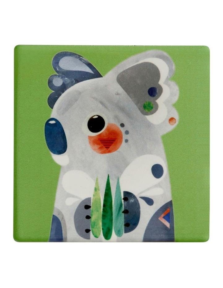 Pete Cromer Ceramic Square Tile Coaster 9.5cm Koala image 1