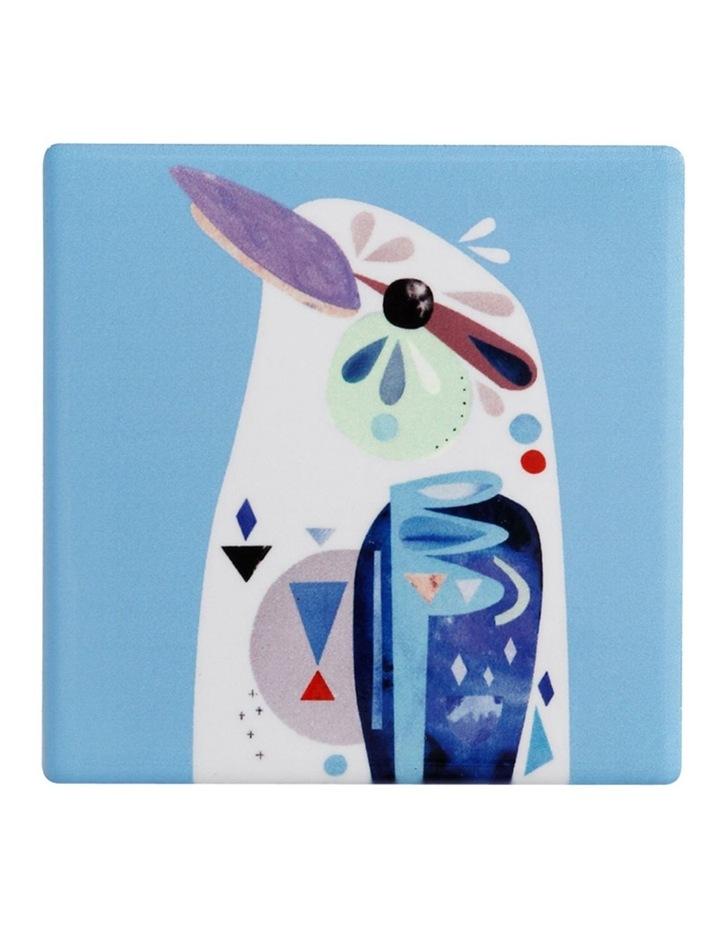 Pete Cromer Ceramic Square Tile Coaster 9.5cm Kookaburra image 1